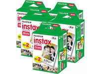 20-40-50-60 & 100 Prints Fujifilm instax instant film For Fuji mini 8 & 9 Camera