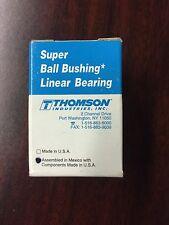 Lot of 3 Thomson Industries Super 10 Ball Bushing Linear Bearings