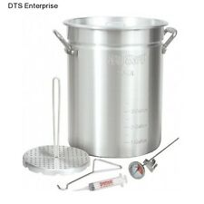 Deep Turkey Fryer Commercial Fry Pot  Stock Restaurant Kitchen Basket French New
