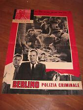 FOTOBUSTA  BERLINO POLIZIA CRIMINALE,Frantisek Cap.Kurt Meisel,,Rütting,Nielsen,