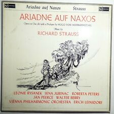 Ariadne Auf Naxos Richard Strauss opera 3 LP boxed set RCA 1960 Rysanek, Peerce