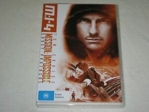 Mission Impossible 4 - Ghost Protocol - Brand New & Sealed - Region 4 - DVD