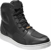 Harley-Davidson® Men's Holtman Black Leather Waterproof Motorcycle Boots D96187