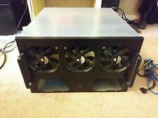 6 GPU Miner Rig Case inc 6 fans
