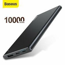 Baseus 10000mAh Power Bank Type C Charger External Battery for iPhone Samsung