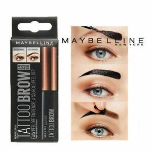 Maybelline Tattoo Brow Easy Peel off Tint Gel Eyebrow, Waterproof Gel, Liner INK