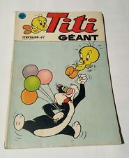 titi géant # 32 , 1976 sagedition - tweety and sylvester