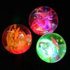 Flashing Light Up LED Color Changing High Bouncing Balls Novelty Sensory Ball
