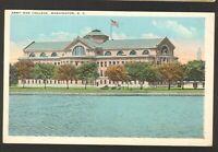 Unused Postcard Army War College Washington DC District of Columbia