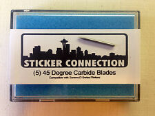 (5) 45 Degree Plotter Blades - Compatible with Summa D-Series - Ships from USA