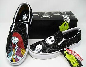 Vans x Nightmare Before Christmas Jack & Sally Slip On Shoes Men's Size 11