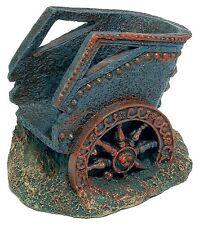 Roman Chariot Aquarium Ornament Ancient Ruin Fish Tank Decoration