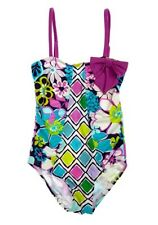 Beach Rays Girls Aubrey Floral Swim Suit / Bathers / Swimmers / One Piece – BNWT