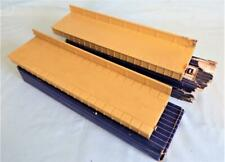 More details for 2 x hornby dublo d1 platform extensions with retaining wall for through station