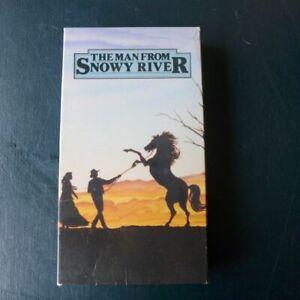 The Man From Snowy River (VHS, 1994) Tom Burlinson Kirk Douglas