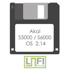 Akai S5000 / S6000 OS Update Version 2.14 (latest) Floppy Disk Made To Order