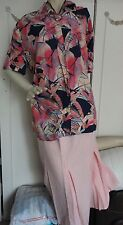 """New """"Burton"""" blouse 40"""" chest. Vintage. Goes well with skirt - separate ad."""