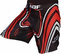AQF Shorts UFC MMA Grappling Short Kick Boxing Mens Muay Thai Pants Gym Wear LD