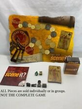 U-PICK Scene It! DVD Trivia Game-Pirates of the Caribbean parts pieces cards dvd