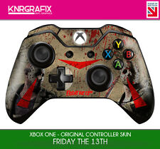 KNR6651 PREMIUM XBOX ONE CONTROLLER FRIDAY THE 13TH JASON VOORHEES