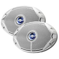 """Marine Stereo Audio Boat JBL Speakers 6"""" x 9"""" Coaxial Waterproof 300W Peak Power"""