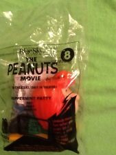 Mcdonalds THE PEANUTS MOVIE #8 PEPPERMINT PATTY Happy Meal Toy