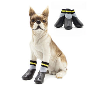 Outdoor Waterproof Nonslip Anti-stain Dog Cat Socks Booties Shoes Paw Protector