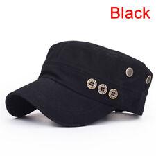 Cappellino regolabile in cotone stile vintage con cappuccio semplice vintage