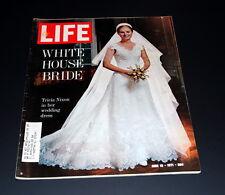 LIFE MAGAZINE JUNE18 TH 1971 TRICIA NIXON IN WEDDING DRESS