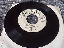 Sunny Gale 45 Dream, Dream, Dream/Don't Cry Mama RCA Victor Promo 475677 Teen