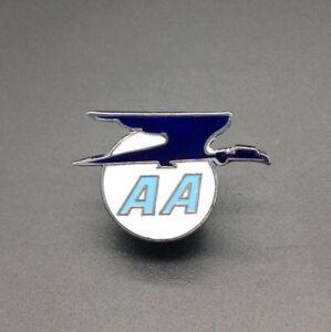 AEROLINEAS ARGENTINAS AIRLINE VINTAGE ENAMEL LAPEL BADGE