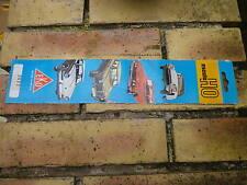 EKO 1/87 HO Languette publicitaire originale, en carton, très très bon état.