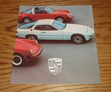 Original 1979 Porsche Full Line Sales Brochure 79 924 911 SC Turbo 928