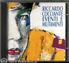 RICCARDO COCCIANTE - EVENTI E MUTAMENTI Anno 1993