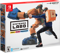 Nintendo Switch Labo Toy-Con Robot Kit DIY