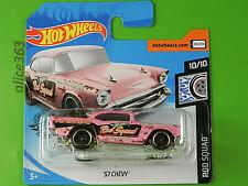 Hot Wheels 2020 - ´57 Chevy - Rod Squad - 180 - Nuevo en Emb. Orig.