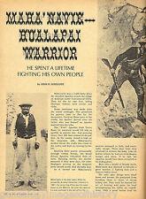 Arizona Hualapai Warrior - Maha'Navie + Genealogy