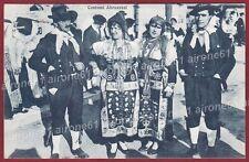 L'AQUILA ABRUZZO 02 COSTUMI Cartolina viaggiata 1946 ALTEROCCA TERNI