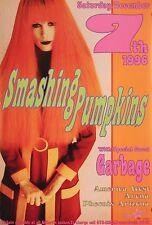 Smashing Pumpkins Garbage 1996 Original Concert Poster by Frank Kozik S/N