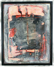 Pierre Dmitrienko (1925-1974) Oil Abstract Composition