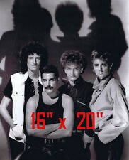 "Queen~Freddie Mercury~Brian May~Group~Poster~Photo~16 "" x 20"""