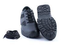 Security Einsatzschuhe Halbschuhe schwarz 41 42 45 + extra Schnürsenkel
