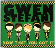GWEN STEFANI FEAT. DAMIAN  MARLEY - Now That You Got It - (2 Track Promo CD)