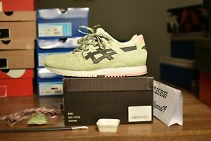 """End x ASICS Gel Lyte III """"Wasabi"""" US 12/UK11 special box extras pre-owned"""