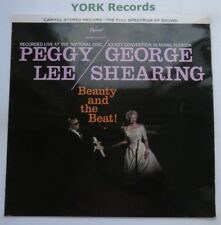 PEGGY LEE & GEORGE SHEARING - Beauty & The Beat - Ex LP Record Capitol ST 1219