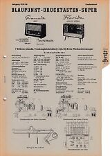 Service Manual-Anleitung für Blaupunkt Granada 2625,Florida 4620,4625