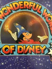 The Wonderful World Of Disney Seven Vinyl Albums In Near Mint Condition