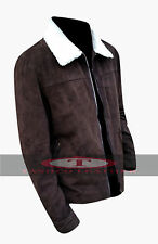 Andrew Lincoln The Walking Dead Rick Grimes Season 4 Real Suede Leather Jacket