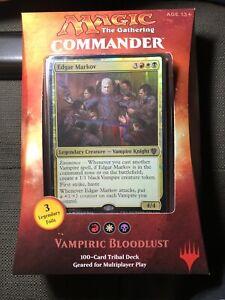Magic the Gathering Commander 2017 Vampiric Bloodlust