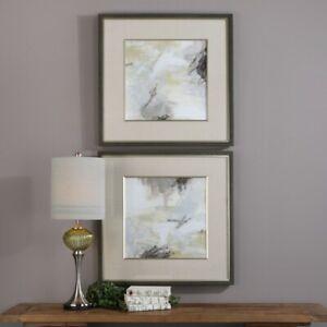 Uttermost - Wall Art - Abstract Vistas - 32.5 inch Framed Print (Set of 2) -